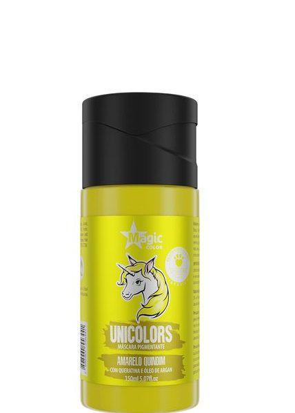 Magic Color Máscara Pigmentante Unicolors Amarelo Quindim 150 ml
