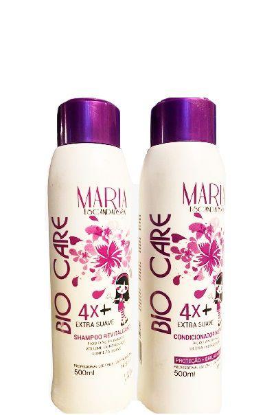 Maria Escandalosa Kit Bio Care Shampoo e Condicionador 500ml