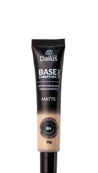 Dailus Base Facial Matte Ultra Cobertura - 02 Nude 30g