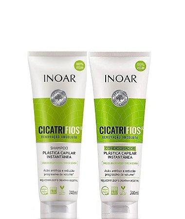 Inoar Cicatrifios Kit Shampoo e Condicionador 240ml