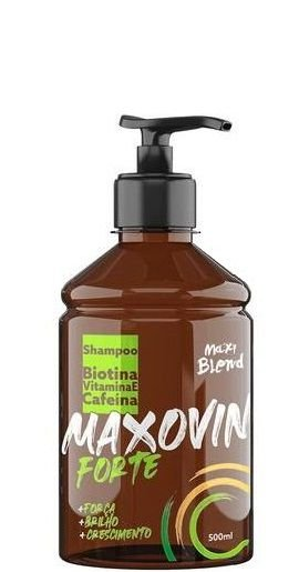 Maxy Blend Shampoo Maxovin Crescimento Forte 500ml OUTLET