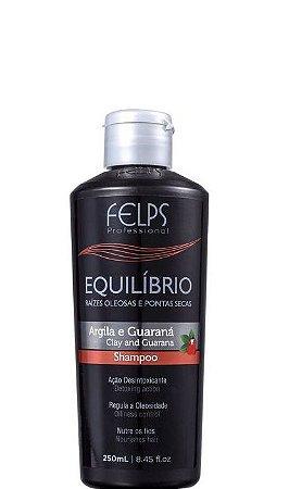 Felps Shampoo Equilíbrio Argila E Guaraná Raiz Oleosa e Ponta Seca 250ml