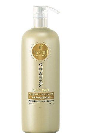 Haskell Mandioca Shampoo Cabelos Opacos 1Litro