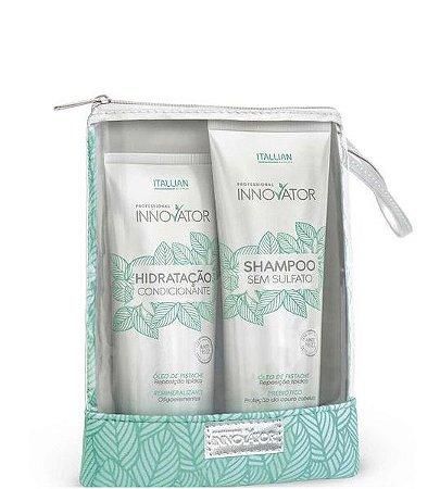 Itallian Innovator kit Manutenção Home Care Shampoo e Hidratação