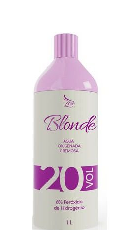 Zap Blonde Água Oxigenada Cremosa 20 Volumes 900ml