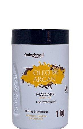 Onixx Brasil Máscara Óleo de Argan Tratamento Capilar 1kg