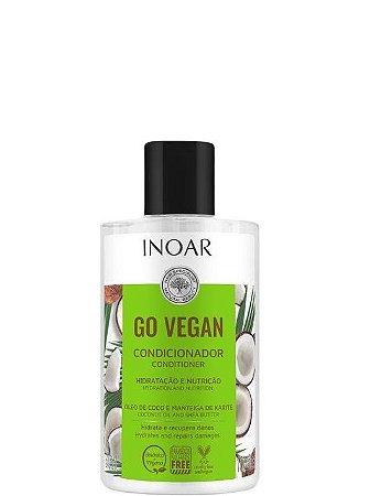 Inoar Go Vegan Condicionador Óleo de Coco de Manteiga de Karitê 300ml