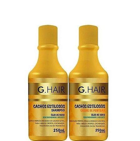 G.Hair Cachos Estilosos Shampoo e Creme de Pentear 2x250ml