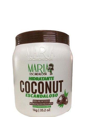 Maria Escandalosa Hidratante Coconut Hidratação Profunda 1kg