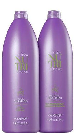 Alfaparf Nutri Seduction Shampoo e Treatment Kit P/ Cabelos Secos 2x1L