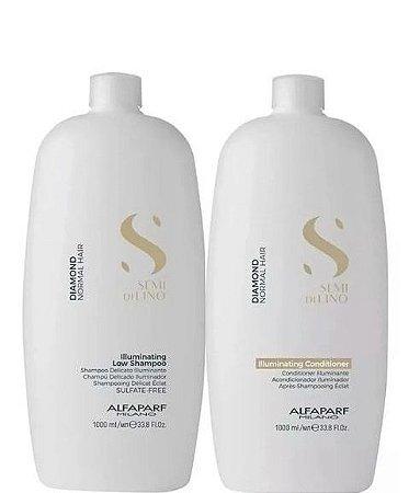Alfaparf Semi Di Lino Diamond Shampoo e Condicionador 2x1litro