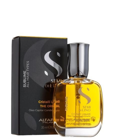 Alfaparf Semi Di Lino Sublime Cristalli Liquidi Óleo Capilar 30ml
