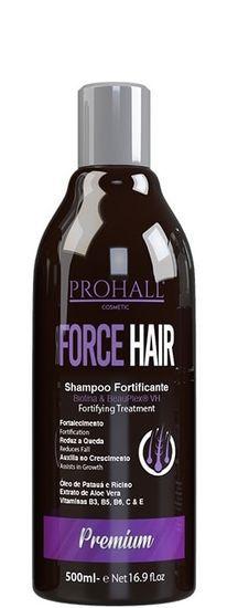 Prohall Shampoo De Crescimento Fortificante Force Hair 500ml