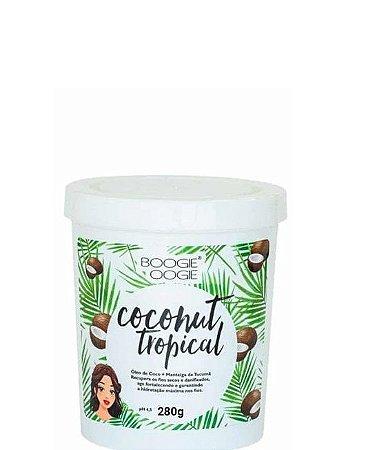 Boogie Oogie Máscara Capilar Coconut Tropical 280g