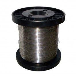 Fio de Aço Inox para Cerca Elétrica Fio 0,70 mm -