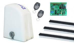 Kit Motor Automatizador Portão Deslizante DZI 2.5 Industrial 220V Rossi 3/4cv Até 1200Kg
