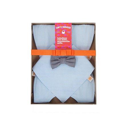 Kit Misto Williamsburg Baby Blue + Gravatinha