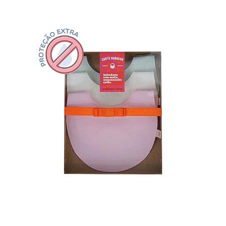 Trio Refeição Colorê Rosa Proteção Extra