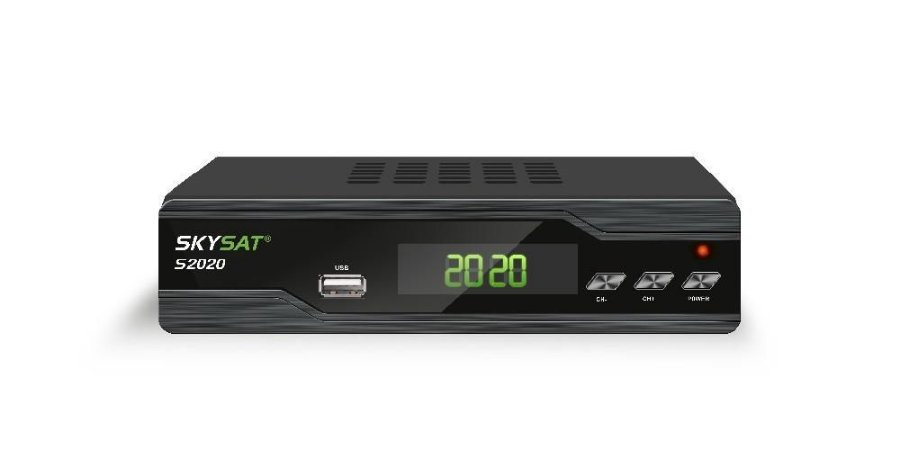 Receptor Skysat S2020 HD / IKS - SKS - IPTV / Wi-Fi / ACM (Por encomenda)