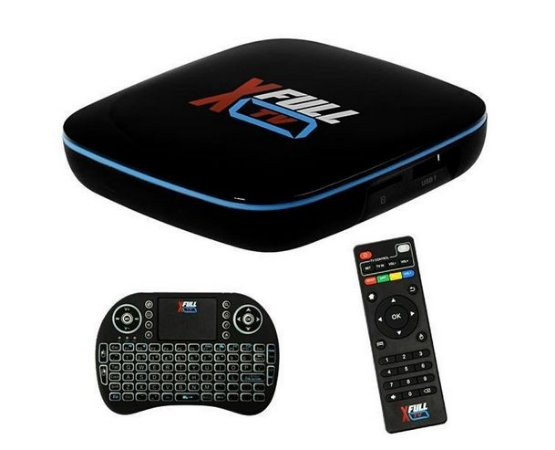 Receptor X Full TV F1 Ultra HD 4K com Wi-Fi/Bluetooth/HDMI Bivolt