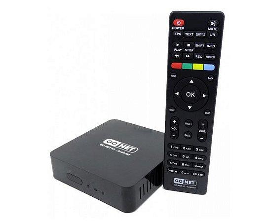 Receptor FTA GoNET N1 Full HD WiFi CS