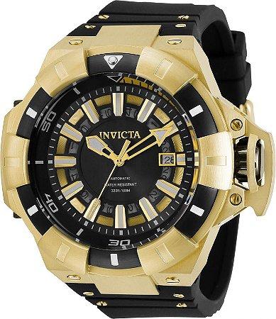 Relógio Invicta Akula 31885 Automático 52mm Banho Ouro
