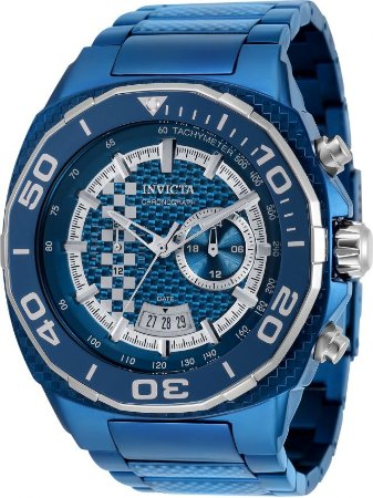 Relógio Invicta Speedway 33200 Banho Ion Azul