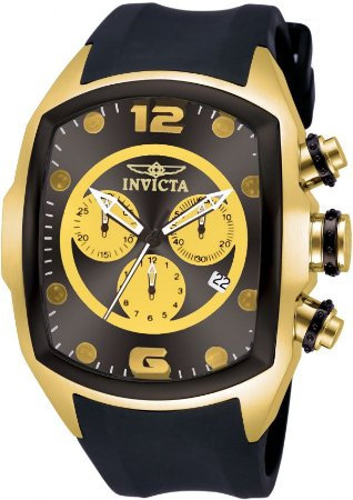 Relógio Invicta Lupah 10067 Banho Ouro Movimento Suíço
