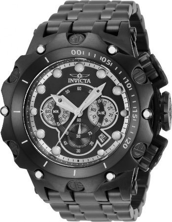 Relógio Invicta Venom Subaqua 35143 Banho Íon Preto Cronógrafo