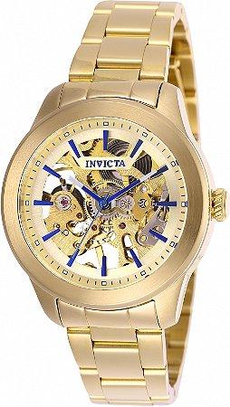 Relógio Invicta Vintage 25751 Banho Ouro Automático
