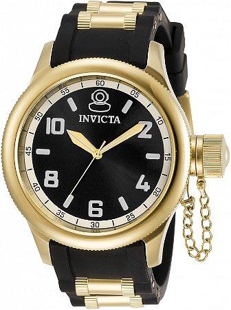 Relógio Invicta Russian Diver 31250 Banho Ouro Feminino