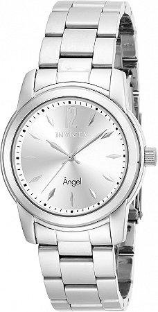 Relógio Invicta Angel 17419 Banho Prata