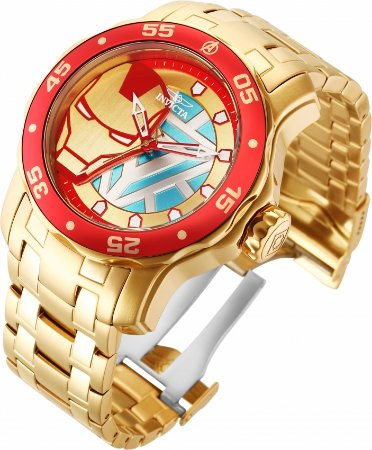 Relógio Invicta Marvel Homem de Ferro 32423 Cx 48mm