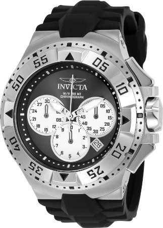 Relógio Invicta Excursion 23039 Banho Prata Cronógrafo