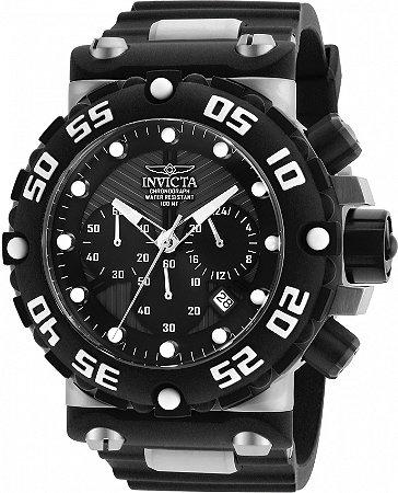 Relógio Invicta Subaqua 25038 Mostrador Preto Cx 52mm