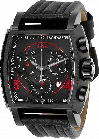 Relógio Invicta S1 Rally 27947 Banho Preto Movimento Suíço Cx 48mm