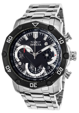 Relógio INVICTA Pro Diver 22760 50 mm Prata Cronógrafo
