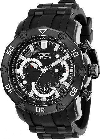 Relógio INVICTA 22799 Pro Diver 50mm Preto Cronógrafo