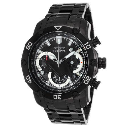 Relógio INVICTA 22763 Pro Diver 50mm Preto Cronógrafo