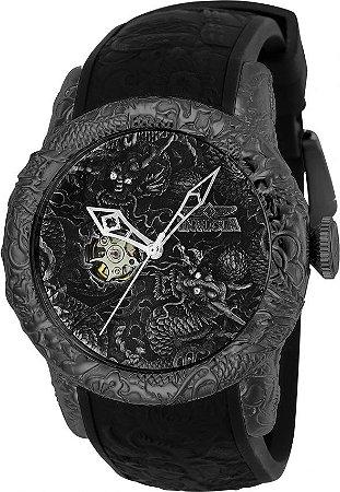 Relógio Invicta 25081 Empire Dragon 50mm Automático Vidro de Safira