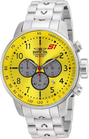 2cbb92a21c3 Relógio Invicta 23085 S1 Rally GPX 48mm Mostrador Amarelo Cronógrafo ...