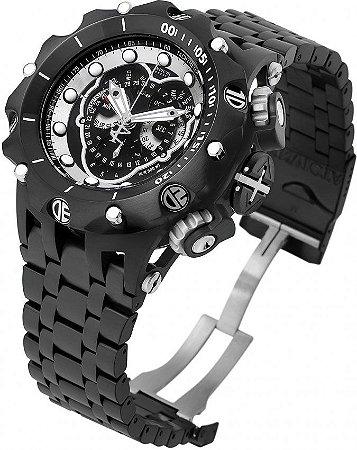 Relógio Invicta Reserve Venom 20421 Hybrid Preto Cronógrafo Calendário Triplo Suíço