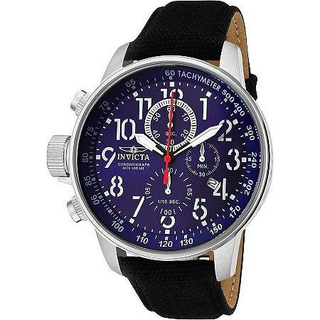 Relógio Invicta I-Force 1513 Prata Cronógrafo Mostrador Azul