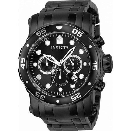 Relógio Invicta Pro Diver 23654 Masculino Troca Pulseiras Cronografo