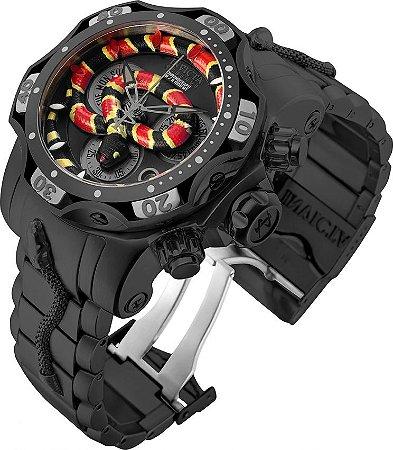 Relógio Invicta Reserve Cobra 30845 Venom 52.5mm Movimento Suíço