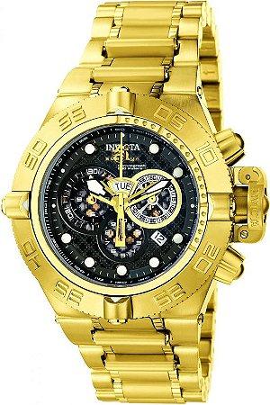 Relógio Invicta 6553 Subaqua Noma IV Banho Ouro 18k Suíço
