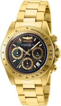 Relógio Invicta Conection 28670 Caixa 39mm Banho Ouro Fundo Madre Pérela