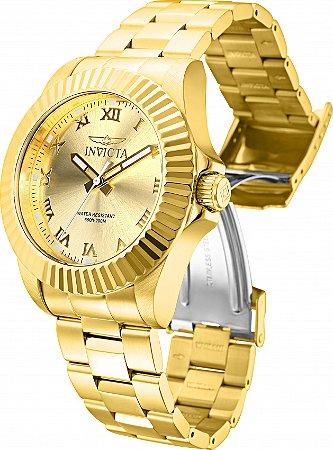 Relógio Invicta Pro Diver 16739 Banho Ouro Clássico