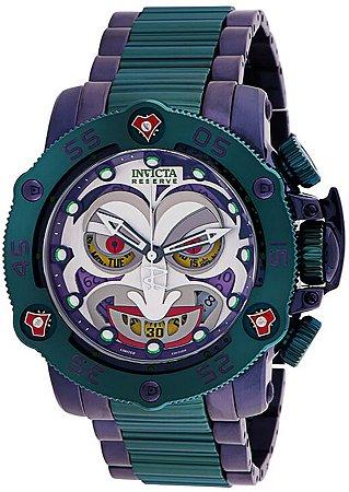 Relógio Invicta DC Comics 34936 Edição Limitada Coringa Movt. Suíço