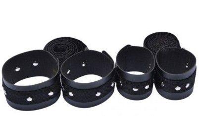 Kit Bondage Material Emborrachado com Tiras - Ref: 22705